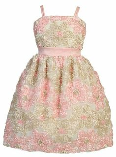 Girls Sweet Kids Pink Champagne Daisy Ribbon Embroidered Dress 2 (SK 325) sweet kids,http://www.amazon.com/dp/B007A2XJX6/ref=cm_sw_r_pi_dp_yZnrrb0HF30NGZRM
