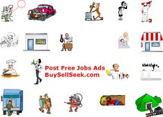 Post Free Jobs Ads - BuySellSeek.com and catch the best employee. http://www.buysellseek.com/buysell/1/jobs.html
