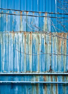"""It's amazing the colors on ubiquitous sheet metal - as Confucius says """"beauty is everywhere!"""""""