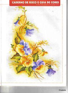 Pintura em Tecido - Gravuras e riscos n09 - Maguiartes Pinturas - Álbuns da web do Picasa