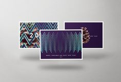 Christmas/New Year Cards on Behance