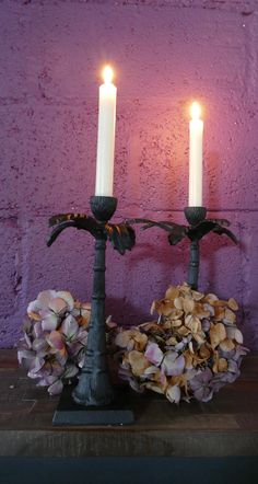 Candles, Dining Table, Pillar Candles, Table, Palm, Dressing Your Table, Photo Backgrounds, Tree Candle Holders, Palm Trees