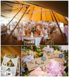 Festival inspired tipi wedding at Tipi Chic. Wedding photography by www.2tonephotography.co.uk