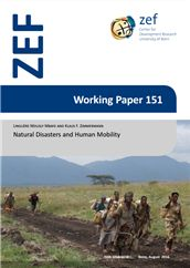 Natural disasters and human mobility