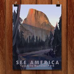 """Crowd-sourced """"See America"""" posters by the Creative Action Network"""