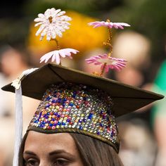 FIDM in #DTLA hosts some of the most stylishly creative brainpower in the city. These grads don't just wear a cap and gown. They do it with style.
