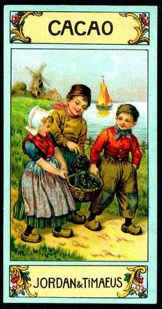 German Tradecard - Dutch Children