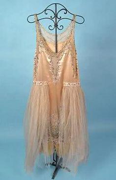 Pink Robe de Style, 1920s.