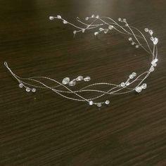 �ет опи�ани� фото. Headpiece Jewelry, Head Jewelry, Wire Jewelry, Wedding Jewelry, Jewelery, Making Hair Bows, Bridal Hair Pins, Wedding Hair Accessories, Jewelry Design
