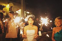 I should do sparklers, it would be fun! Just how I like things