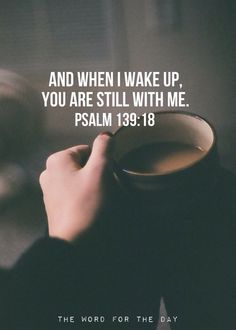 A nice pin reminder of PEACE and JOY to go along with all my #COFFEE Pinterest pins! #DdO:) - https://www.pinterest.com/DianaDeeOsborne/cheat-sheet-fast-food-joy/ - CHEAT SHEET FOR FAST FOOD JOY. Psalm 139:18 promise FROM GOD that gives peace long past our warm morning brew: When we wake up, the LORD God is still with us, if we've invited Him for breakfast :) - Pinned via Gaileen.
