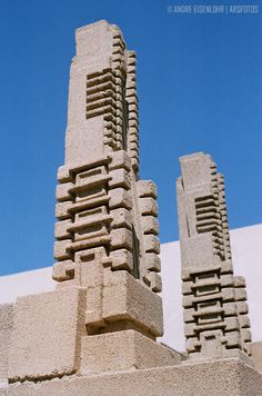 Aline Barnsdall Hollyhock House. Hollywood, California, 1919–1921. Frank Lloyd Wright