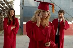 """""""The Vampire Diaries"""" has a message for graduates of the Class of 2013. Fittingly, it's a very bloody message. Watch the video here."""