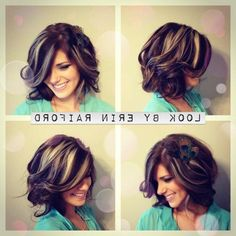 Dark Medium Length Hair With Highlights Hair Cuts Medium Lengths On Pinterest 280 Pins