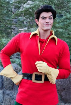 Gaston Face Character