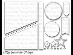 Blueprints 18 Die-namics from My Favorite Things - YouTube #mftstamps