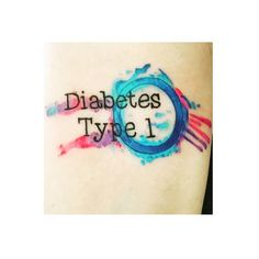Learning How To Cope With Diabetes In Your Life. Diabetes is a serious condition on its own, and can give rise to numerous secondary conditions and complications, even death. Diabetes Tattoo Type 1, Type One Diabetes, Diabetes Signs, 1 Tattoo, Get A Tattoo, Tattoo Quotes, Medical Alert Tattoo, Medical Tattoos, Organ Donation