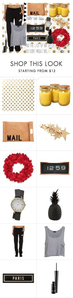 """""""Untitled #43"""" by juststopandbreath on Polyvore featuring Kate Spade, Akira, LEFF Amsterdam, Topshop, Pols Potten, NIKE, Bardot, Spicher and Company and MAC Cosmetics"""