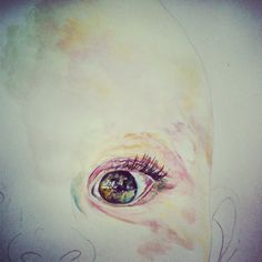 #painting #portraiture #fineart #eyes