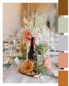 Erg mooie kleurencombinatie voor interieur rondom cognac kleurige bank.