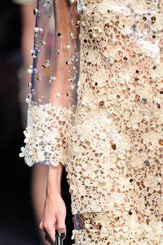 Dolce & Gabbana SS12 RTW. The detailing always knocks my socks off.