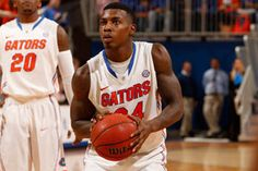Casey Prather and the Gators struggled at the free-throw line in Sunday's win over Kentucky.