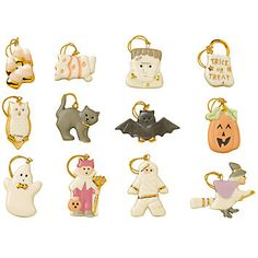 LENOX Halloween  - Trick or Treat 12-pc Ornament Set