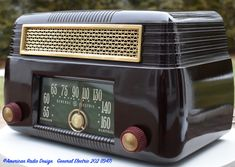 Tvs, Radio Design, Old Stove, Vintage Television, Cool Clocks, Retro Radios, Antique Radio, General Electric, Gi Joe