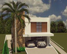 Residência unifamiliar. #casa #condomínio #arquitetura #revestimento #madeira #esquadria