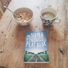 As one readathon comes to a close, another one begins... Kicking off the #5Books7Days readathon with #TheSilverLiningsPlaybook by #MatthewQuick - one of those books I've been meaning to read for ages.  #lottelikesfood