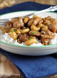Easy Cashew Chicken | Very Culinary ::::: So so Good! Huge hit with the family. It's not saucy at all. We would have like it to be saucy too. More water & Hoisen next time. :::::
