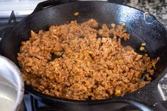 """Authentic Colombian meat stuffed potatoes """"papas rellenas"""" are a delicious and fulfilling breakfast. Crispy outside with soft mashed potatoes and well-seasoned meat inside. Stuffed Potatoes, Mashed Potatoes, Stuffed Peppers, Easy Churros Recipe, Churro Recipe, Sofrito Chicken, Cilantro Garlic Sauce, Colombian Cuisine, How To Cut Onions"""