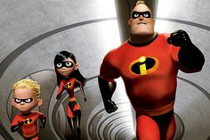 *DASH, VIOLET MR. INCREDIBLE ~ The Incredibles, 2004