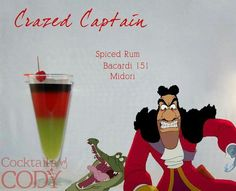 Captain Hook Cocktail