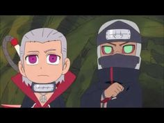 Kakuzu and Hidan Chibi Naruto Sd, Naruto Anime, Naruto And Hinata, Naruto Cute, Hinata Hyuga, Naruto Shippuden, Akatsuki, Kakashi Hatake, Foto Meme