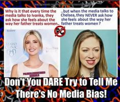I'm a fan of neither....but the bias is real & plain as day. Wake up ppl ‼️