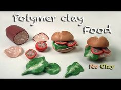 ▶ Mortadella Sandwiches Polymer clay tutorial- Collaboration with Sandrartes - miniature food - YouTube