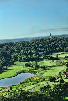 Ariel Views of Old Kinderhook Golf Course ~ Lake of the Ozarks