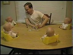 [lamabove] I love hearing babies laugh! There's nothing cuter than a baby's laugh.well except the laughter of four babies! Quadruplets to be exact! Watch the adorable video below of a father making his quadruplets laugh! America's Funniest Home Videos, Funny Home Videos, Funny Babies, Cute Babies, Laughing Baby, America Funny, Belly Laughs, Cute Kids, Just In Case