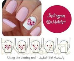 Nail Art Tutorial-So cute for V-day!