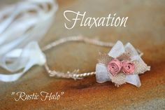"Flaxation ""Rustic"" halo.                www.flaxation.co.nz"