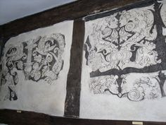 Tudor wall paintings by pefkosmad, via Flickr