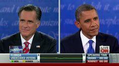 Watching LIVE the final 2012 presidential debate on CNN.