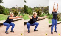 Confira um movimento power para trabalhar os músculos