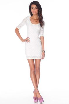 lace dresses are just way too cute