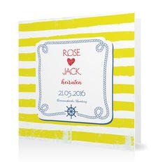 Hochzeitseinladung Maritim in Limette - Klappkarte quadratisch #Hochzeit #Hochzeitskarten #Einladung #Foto #modern https://www.goldbek.de/hochzeit/hochzeitskarten/einladung/hochzeitseinladung-maritim?color=limette&design=fc9cb&utm_campaign=autoproducts
