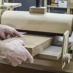 How to make a Thickness Sander for your lathe
