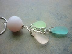 Pink Sea Glass Necklace  Rarest Seaglass by TheMysticMermaid, $72.00