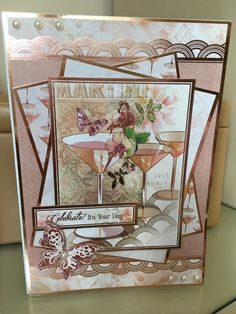 Hunkydory rose gold collection