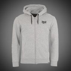 Pánská mikina Everlast Basic zip light grey 5c21905632
